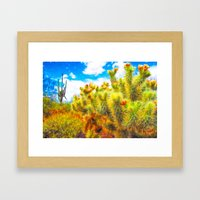 Desert Bounty Framed Art Print