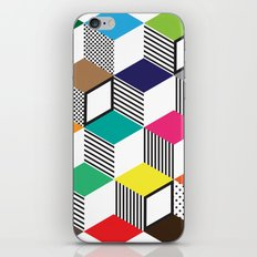 Cubes | Color iPhone & iPod Skin