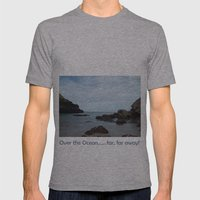 Out To Sea! Mens Fitted Tee Athletic Grey SMALL