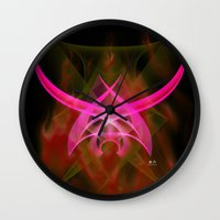 In Flight 5 Of 5 Series Wall Clock
