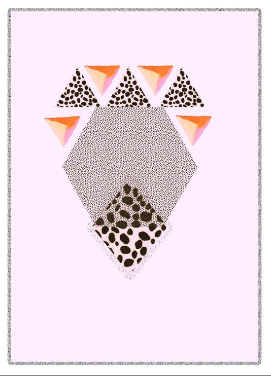 LEOPARD DIAMOND Art Print
