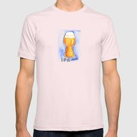 IPA Snob Mens Fitted Tee Light Pink SMALL