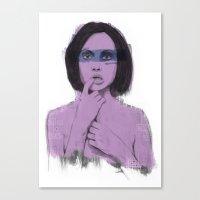 Bereft Canvas Print