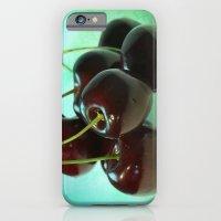 Black Cherries iPhone 6 Slim Case