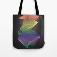 Angular Rainbow Tote Bag