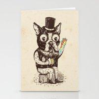 Strange Dog Stationery Cards
