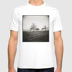 { skeleton trees } Mens Fitted Tee White SMALL