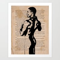 His Weapons Had Disappeared Art Print