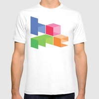 Home Mens Fitted Tee White SMALL