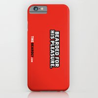 iPhone & iPod Case featuring BEARDED FOR HIS PLEASURE. by The Beardly