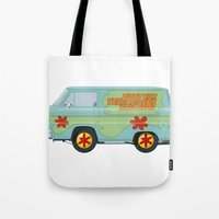 Mystery Machine - Scooby-Do!  I/III Tote Bag