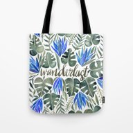 Tropical Wanderlust – … Tote Bag
