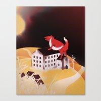 Sunrise Glory (Stolen Mo… Canvas Print