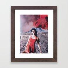 collage 2 Framed Art Print