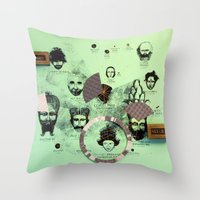Over and Out!  Throw Pillow