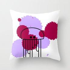 Medusa Throw Pillow