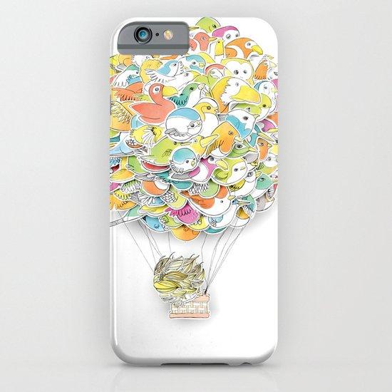 Bird Balloon iPhone & iPod Case