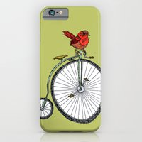 bird on a bicycle. iPhone 6 Slim Case