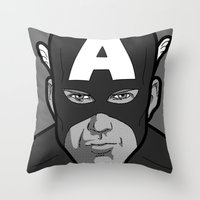 The secret life of heroes - Photobooth2-1 Throw Pillow
