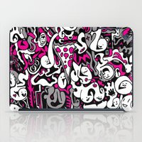 Ghost Doodles iPad Case