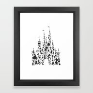 Character Castle...  Framed Art Print