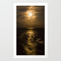 I'll Sail Away  Art Print