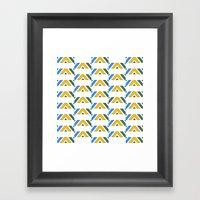 Pattern12 Framed Art Print