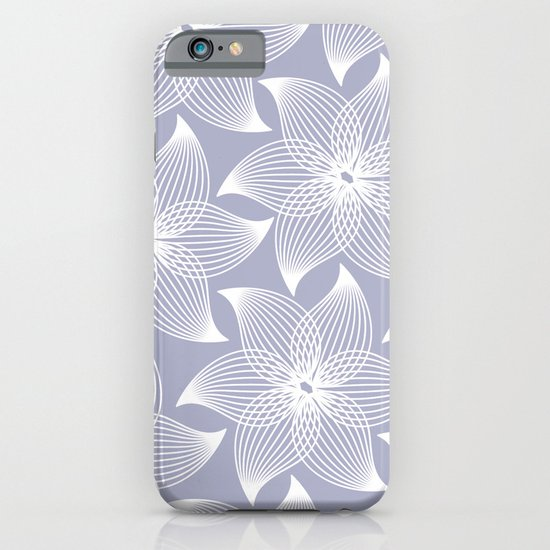 Pale flower pattern iPhone & iPod Case