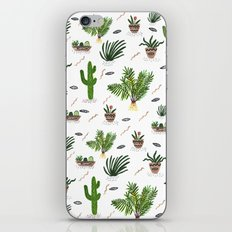 PLANTS ARE MY FRIENDS iPhone & iPod Skin