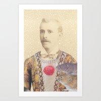 Salvaged Relatives (02) Art Print