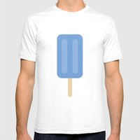 #59 Icy Pole Mens Fitted Tee White SMALL