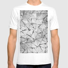 iWood SMALL White Mens Fitted Tee