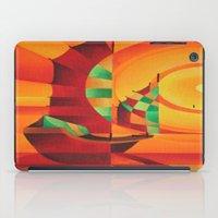 Cubist Junks on A Red Sea iPad Case