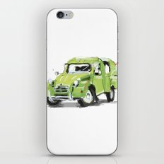 2cv Van iPhone & iPod Skin