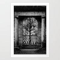A Secret Garden Art Print