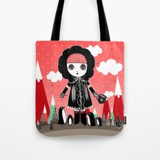 Eskimo Girl, I love you. Tote Bag