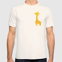 Giraffe Mens Fitted Tee Natural SMALL
