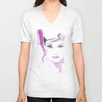 Fashion Illustration In … Unisex V-Neck