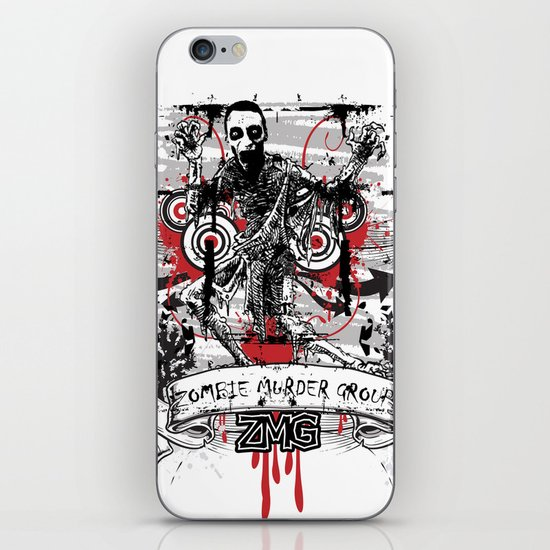 Zombie iPhone & iPod Skin