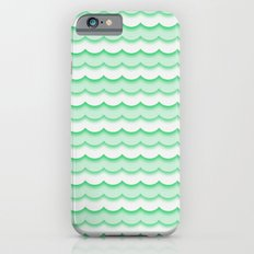 Green Waves Slim Case iPhone 6s