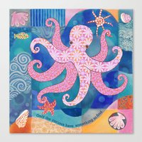 Octopatch Canvas Print