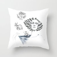 My Mermaid Throw Pillow