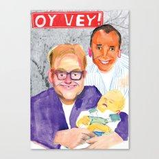 OY VEY! Canvas Print