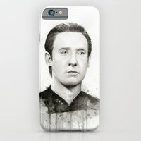 iPhone & iPod Case featuring Data by Olechka