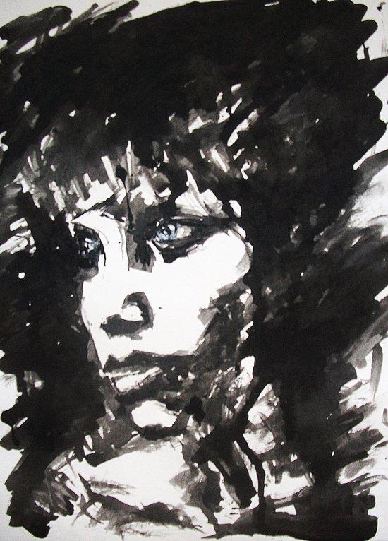 Retrato/Face Art Print