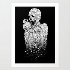 MUMMY's DUMMY Art Print