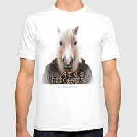 Cheval Mens Fitted Tee White SMALL