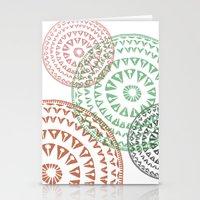 Nuba Garden Stationery Cards
