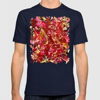 Red hot day Species Mens Fitted Tee Navy SMALL