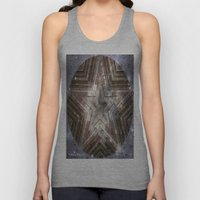 Hollywood Star with water drops Unisex Tank Top